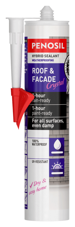 PENOSIL Roof & Facade Crystal hybrid sealant - EasyPRO
