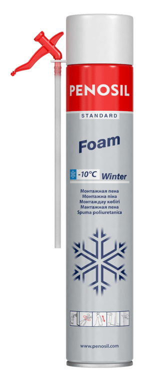 PENOSIL Standard Foam Winter with straw applicator for cold condition works.