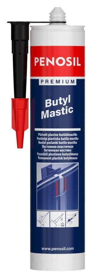 PENOSIL Premium Butyl Mastic for sealing joints with low movement
